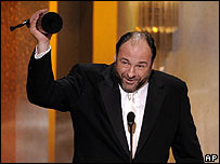 James Gandolfini at the SAG awards