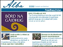 BBC Gaelic news website