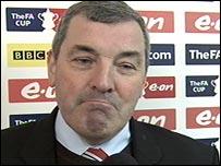 Altrincham manager Graham Heathcote