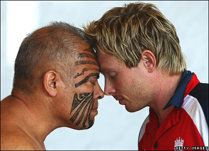 England cricketer gets Maori welcome in New Zealand