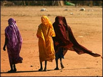 Refugees from Darfur in Eastern Chad (AFP)