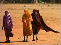 لاجئات من دارفور في تشاد