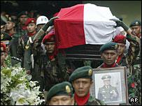 Suharto's funeral