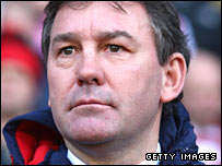 Sheffield United manager Bryan Robson
