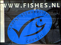 Marine Stewardship Council label (Image: TVE)