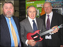 Bernard King, Jackie Stewart, Paul Darrant