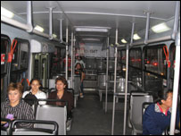 Autobús en Ciudad de México