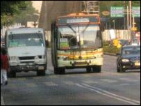 Autobuses en Ciudad de México