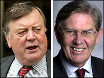 Ken Clarke and Bill Cash