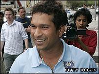 Sachin Tendulkar arrives at the hearing