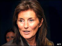 Cecilia Sarkozy. File photo