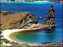 Galapagos Island bay
