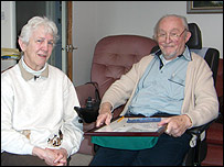 Photo of Wally and Edna Burton