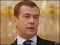 First Deputy PM Dmitry Medvedev