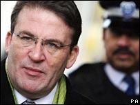 Police Minister Tony McNulty