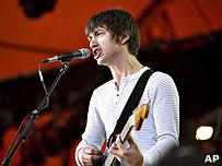 Alex Turner from Arctic Monkeys
