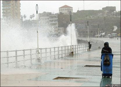 В столице ливана бейруте свирепствует