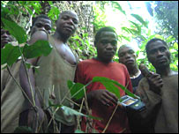 Baka people (Picture taken by Dr Jerome Lewis from UCL)