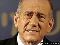 Ehud Olmert, Israeli PM