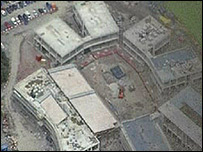 Building works at the Withywood site