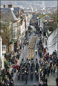 March through Winchester