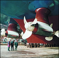Azimuth thrusters (copyright: Siemens)