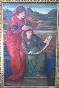 Oil on canvas by Sir Edward Coley Burne-Jones