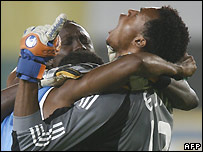 Nigeria celebrate their win