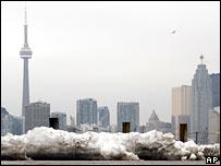 File photograph of the Toronto skyline