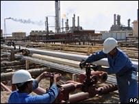 Iraqi oil workers