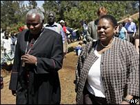 Jendayi Frazer visits Eldoret (8 January 2008)