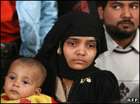 Bilkis Bano and her family