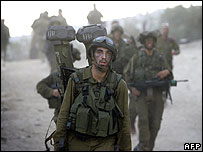 Israeli troops leave Lebanon, 14 August 2006