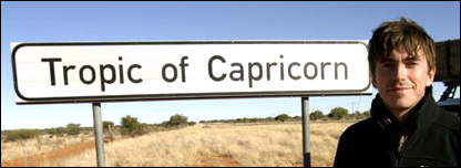 Tropic of Capricorn sign