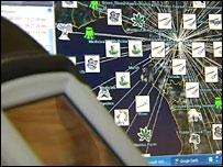 Computerised map
