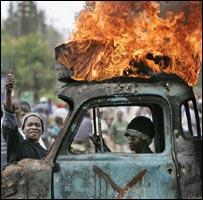 Mobs in Kisumu