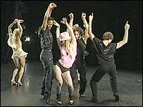 Ballet performers