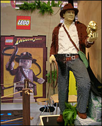 The Lego stand