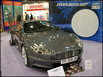Aston Martin DBS car