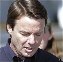 John Edwards in New Orleans on 30 January 2008