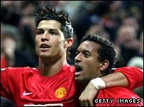 Ronaldo and Nani
