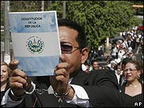 Judges protest in El Salvador