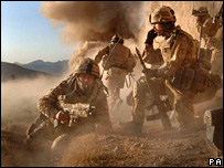British marines in Afghanistan (archive)