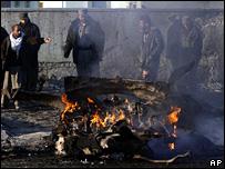 Coche bomba en Kabul (31/01/2008)