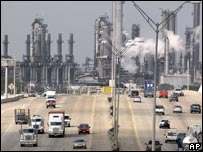 Shell's Deer Park refinery in Texas