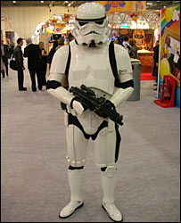Stormtrooper from the Star Wars