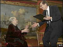 Doris Lessing and Staffan Carlsson