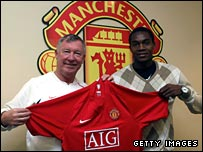Sir Alex Ferguson and Manucho