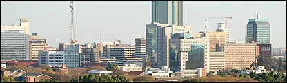 Harare skyline [Pic: Robyn Hunter]