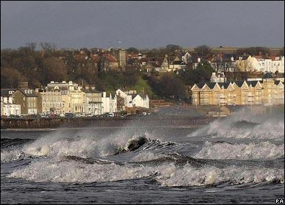 The coast at Filey, North Yorkshire